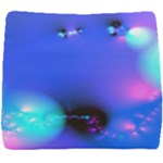 Love In Action, Pink, Purple, Blue Heartbeat Seat Cushion