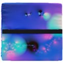 Love In Action, Pink, Purple, Blue Heartbeat Seat Cushion View4