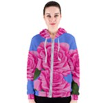 Roses Collections Women s Zipper Hoodie