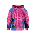 Roses Collections Kids  Zipper Hoodie
