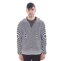 Abstract Animated Ornament Background Hooded Windbreaker (men) by Alisyart