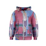 Palm Beach Perfume Art Collection Kids  Zipper Hoodie