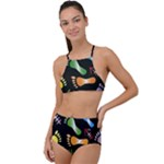 black swatch jpg High Waist Tankini Set