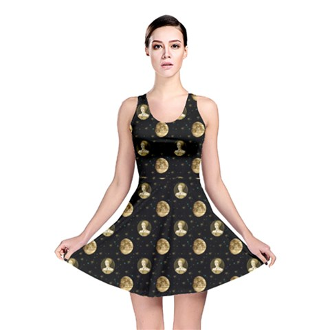 Elizabeth Tudor Reversible Skater Dress