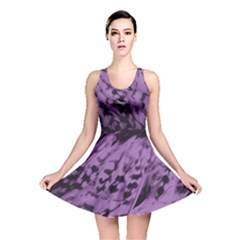 Purple Bird Reversible Skater Dress by chihuahuadresses