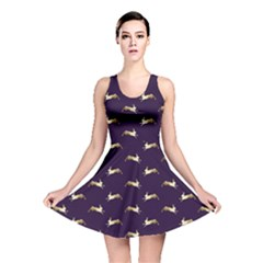 Moon Hares Reversible Skater Dress by chihuahuadresses