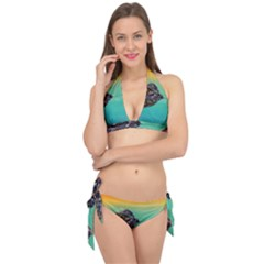 Amphibian Animal Tie It Up Bikini Set