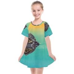 Amphibian Animal Kids  Smock Dress by AnjaniArt