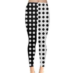 Polka Dots Leggings  by greenthanet