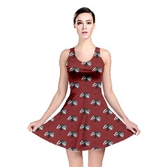 Red Badgers Reversible Skater Dress by chihuahuadresses