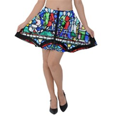 Stained Glass Skater Skirt by greenthanet