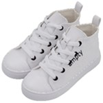 IMS-blue Kid s Mid-Top Canvas Sneakers