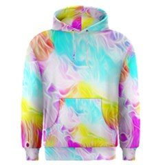 Background Drips Fluid Colorful Men s Pullover Hoodie