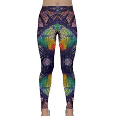 Phronesis Awareness Philosophy Classic Yoga Leggings by Bejoart