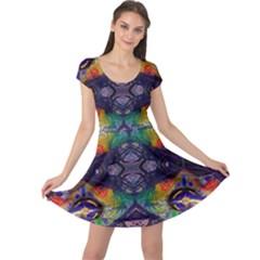 Phronesis Awareness Philosophy Cap Sleeve Dress
