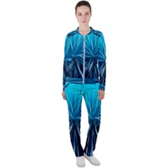 Background Structure Lines Casual Jacket And Pants Set by Bejoart