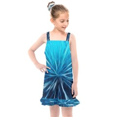 Background Structure Lines Kids  Overall Dress by Bejoart