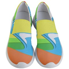Waves Beach Sun Sea Water Sky Women s Lightweight Slip Ons
