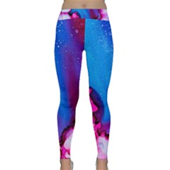 Abstract Detail Art Texture Classic Yoga Leggings by Wegoenart