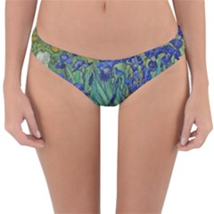 Antique Art Artwork Bloom Blooming Reversible Hipster Bikini Bottoms by Wegoenart