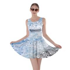 Coast Beach Shell Conch Water Skater Dress by Wegoenart