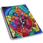 Arcturian Divine Order Grid - 5.5  x 8.5  Notebook New
