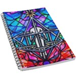 Merkabah - 5.5  x 8.5  Notebook New