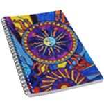 Sun+Moon - 5.5  x 8.5  Notebook New