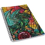Dragon - 5.5  x 8.5  Notebook New