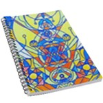 Happiness Pleiadian Lightwork Model - 5.5  x 8.5  Notebook New