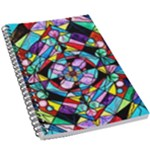 Sacred Geometry Grid - 5.5  x 8.5  Notebook New