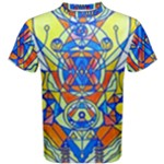 Happiness Pleiadian Lightwork Model - Men s Cotton Tee