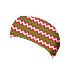 Christmas Paper Scrapbooking Pattern Yoga Headband by Wegoenart