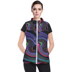 Art Abstract Colorful Abstract Women s Puffer Vest by Wegoenart