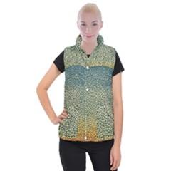 Background Cubism Mosaic Vintage Women s Button Up Vest by Wegoenart
