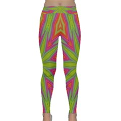 Abstract Art Abstract Background Classic Yoga Leggings by Wegoenart