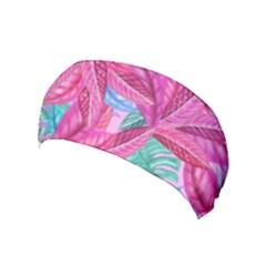 Leaves Tropical Reason Stamping Yoga Headband