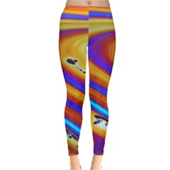 Abstract Architecture Background Leggings  by Wegoenart