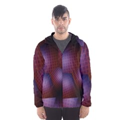 Fractal Rendering Hooded Windbreaker (men) by Wegoenart