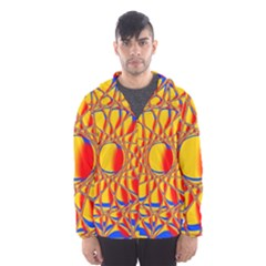 Graphic Design Graphic Design Hooded Windbreaker (men) by Wegoenart