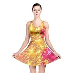 Fractal Math Mathematics Science Reversible Skater Dress by Wegoenart