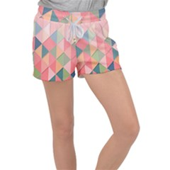 2 Triangles Make A Square Women s Velour Lounge Shorts by TimelessFashion