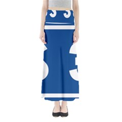 Italy State Highway 38 Full Length Maxi Skirt by abbeyz71