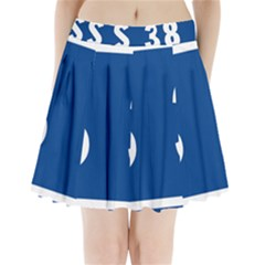 Italy State Highway 38 Pleated Mini Skirt by abbeyz71