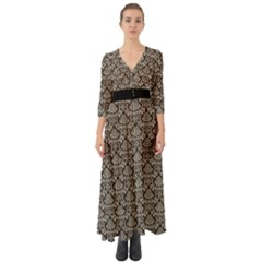 Dream In Damask  Button Up Boho Maxi Dress by TimelessFashion