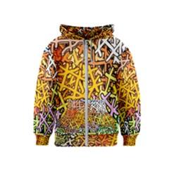 Color Colors Network Networks Kids  Zipper Hoodie