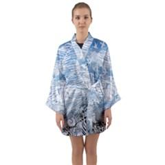 Coast Beach Shell Conch Water Long Sleeve Kimono Robe