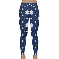 Dark Starry Night Rageon Classic Yoga Leggings by bottomsupbykenique