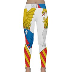 Community Of Valencia Coat Of Arms Classic Yoga Leggings by abbeyz71
