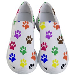 Pawprints Paw Prints Paw Animal Women s Lightweight Slip Ons